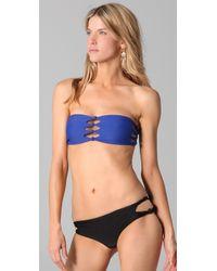 Mikoh Swimwear - Blue Monaco Bikini Top - Lyst