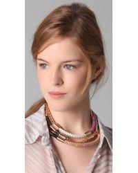 Sachin & Babi - Metallic Marmalade Necklace - Lyst