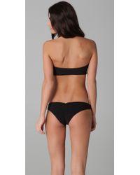 Tori Praver Swimwear | Black Lily Bikini Top | Lyst