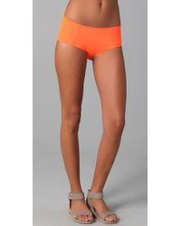 Zero + Maria Cornejo | Orange Midi Bikini Bottoms | Lyst