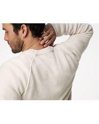 James Perse - Gray Raglan Sweater for Men - Lyst