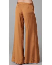 Elizabeth and James - Brown Evelyn Trousers - Lyst