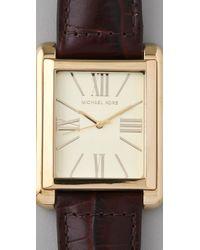 Michael Kors - Metallic Bradley Watch - Lyst