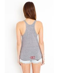 Nasty Gal - Gray Paradise City Tank - Lyst