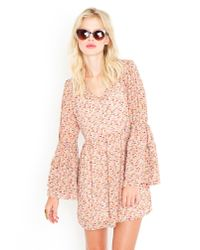 Nasty Gal   Pink Anabelle Babydoll Dress   Lyst