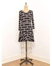 Olivia Rubin - Black Katie Long Sleeve T Shirt Dress By - Lyst