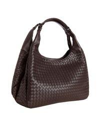 Bottega Veneta | Brown Intrecciato Leather Campana Large Hobo | Lyst