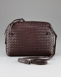 Bottega Veneta - Brown Crossbody Bag, Small - Lyst