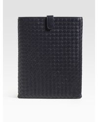 Bottega Veneta | Brown Woven Leather Ipad Case for Men | Lyst