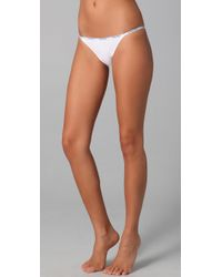 Calvin Klein | White Cotton Bikini Briefs | Lyst