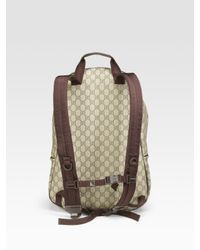 Gucci - Natural Gg-plus Backpack for Men - Lyst