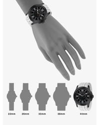 Gucci - Black G-timeless Extra Large Rubber Strap Watch - Lyst