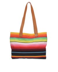 House of Holland | Multicolor Multi Stripe Shopper Bag | Lyst