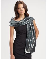 Ilana Wolf | Metallic Sequin Wrap | Lyst