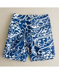 J.Crew | Blue Molokini Floral Board Short for Men | Lyst