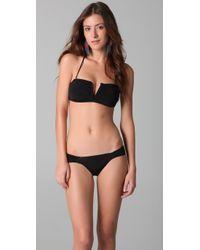 Mara Hoffman | Black V Wire Bikini | Lyst