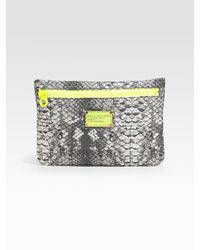 Marc By Marc Jacobs | Gray Pretty Nylon Cosmetic Pouch | Lyst