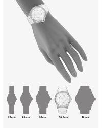 Marc By Marc Jacobs | Metallic Pelly Glitz Bezel Watch | Lyst