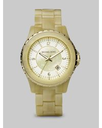 Michael Kors | Natural Horn Bracelet Watch | Lyst