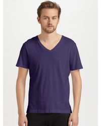 Number:lab - Purple Short Sleeve T-Shirt for Men - Lyst