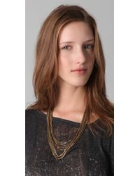 Rachel Leigh - Metallic Estates Chainmail Necklace - Lyst