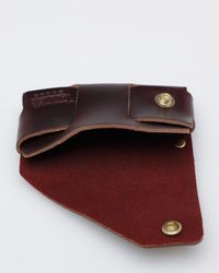 Tanner Goods | Purple Cardholder in Oxblood for Men | Lyst