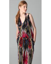 Thakoon - Multicolor Ikat Print Jumpsuit. - Lyst