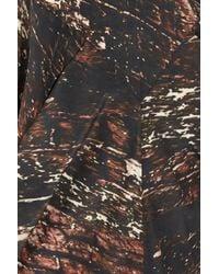 Zero + Maria Cornejo - Brown Toia Mini Dress - Lyst