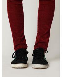 Free People - Black Retro Classic Sneaker - Lyst