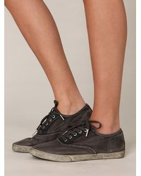 Free People | Brown Muddy Waters Sneaker | Lyst