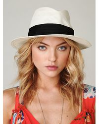 Free People | White Hispaniola Hat | Lyst
