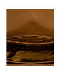 Saint Laurent - Brown Havana Musk Leather Chyc Flap Shoulder Bag - Lyst