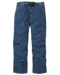 Levi's - Blue Denim Trousers for Men - Lyst