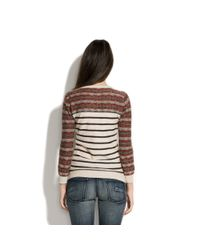 Madewell - Brown Rustic Lodge Sweater - Lyst