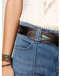 Free People | Blue Pintuck Flare | Lyst