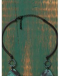 Free People | Green Santo Collar Necklace | Lyst