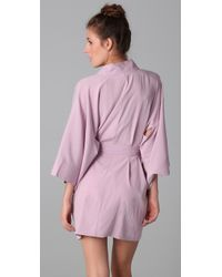 3.1 Phillip Lim | Purple Kimini Robe | Lyst