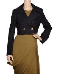 Burberry Prorsum - Blue Two-in-One Virgin Wool-Blend Coat - Lyst