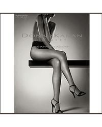 Donna Karan | Natural Ob112 - Nude Ultra High Cut Sheer Satin Pantyhose | Lyst