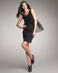 Elizabeth and James | Black Ellen Flyaway Dress | Lyst