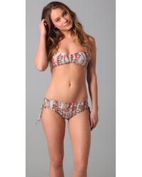 Ella Moss - Brown Yuma Bandeau Bikini Top - Lyst