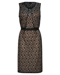 Marc By Marc Jacobs | Black Dahlia Lace and Jersey Dress | Lyst