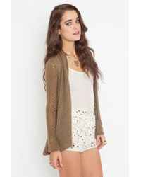 Nasty Gal | Natural Confetti Sequin Shorts | Lyst