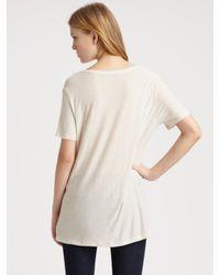 T By Alexander Wang | Black Classic Pocket T-shirt | Lyst