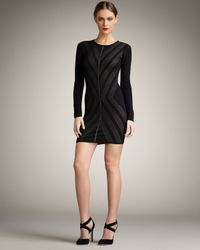 Torn By Ronny Kobo | Black Corinne Knit Dress | Lyst