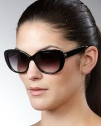 Barton Perreira - Black Ceylon Wide-frame Sunglasses - Lyst