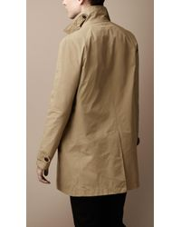 Burberry Brit - Natural Diamond Quilted Warmer Raincoat for Men - Lyst