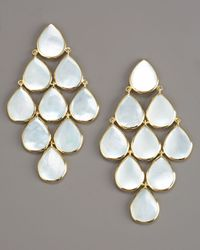Ippolita | White Cascade Mother-of-pearl Earrings | Lyst