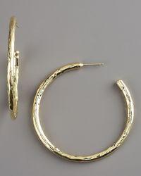 Ippolita - Metallic Glamazon Gold Hoop Earrings - Lyst