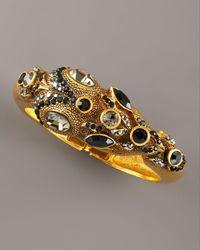 Jose & Maria Barrera | Black Multi-stone Snake Bracelet | Lyst